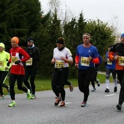 43. Saaremaa kolme päeva jooks - Margus Jänese (86), Mirko Känd (488), Laidy Lainoja (539)