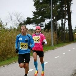 43. Saaremaa kolme päeva jooks - Frank Abner (102), Kaisa Kukk (599)