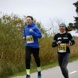 43. Saaremaa kolme päeva jooks - Heli Mäesepp (328), Kaido Koppel (667)