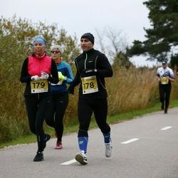 43. Saaremaa kolme päeva jooks - Taivo Pallotedder (178), Siret Liivak (179)
