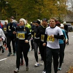 43. Saaremaa kolme päeva jooks - Gert Silm (52), Gerli Silm (53)