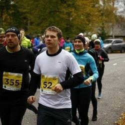 43. Saaremaa kolme päeva jooks - Gert Silm (52), Gints Osins (355)