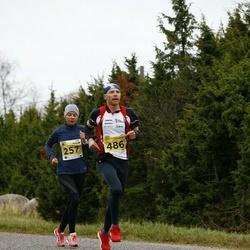 43. Saaremaa kolme päeva jooks - Ilona Marhele (257), Alar Abram (486)