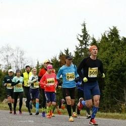 43. Saaremaa kolme päeva jooks - Tanel Kannel (509), Tambet Allik (640)