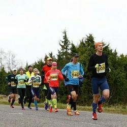 43. Saaremaa kolme päeva jooks - Tanel Kannel (509), Evelin Talts (560), Tambet Allik (640)