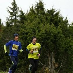 43. Saaremaa kolme päeva jooks - Margus Hanni (637), Aaron Kais (657)