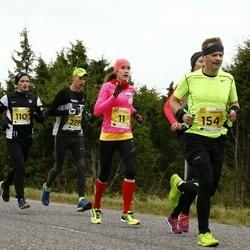 43. Saaremaa kolme päeva jooks - Klarika Kuusk (11), Margus Klementsov (154)