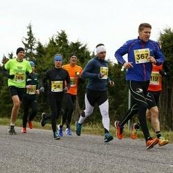 43. Saaremaa kolme päeva jooks - Sulev Lokk (54), Martin Maasik (114), Talis Nurk (367)