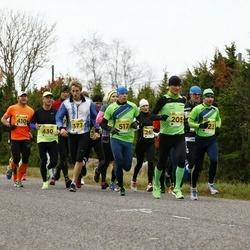 43. Saaremaa kolme päeva jooks - Hanno Kindel (205), Lauri Räbin (517)