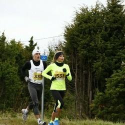43. Saaremaa kolme päeva jooks - Hanno Priks (333), Daana Suun (531)