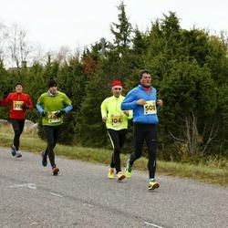 43. Saaremaa kolme päeva jooks - Tiit Tilk (104), Virgo Arge (508)