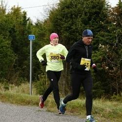 43. Saaremaa kolme päeva jooks - Toomas Ellervee (43), Jane Saluorg (380)