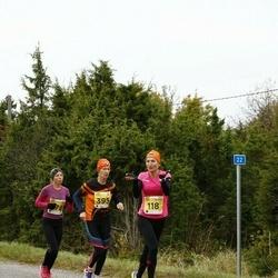 43. Saaremaa kolme päeva jooks - Diana Kaljuvee (118), Mare Ulp (395)