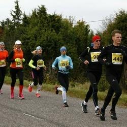43. Saaremaa kolme päeva jooks - Mare Mändla (124), Arja Kajanki (157), Marika Roopärg (485)