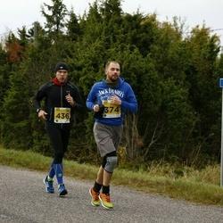 43. Saaremaa kolme päeva jooks - Martin Kalvet (374), Martin Minin (436)