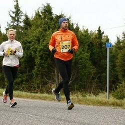 43. Saaremaa kolme päeva jooks - Katrin Taho (22), Raul Vinni (207)