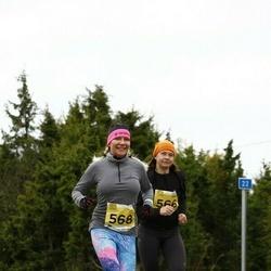 43. Saaremaa kolme päeva jooks - Anu-Mall Naarits (566), Kairit Valk (568)