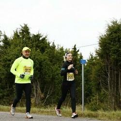 43. Saaremaa kolme päeva jooks - Annika Veisson (223), Taavi Kõrvits (317)
