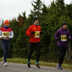 43. Saaremaa kolme päeva jooks - Veiko Valkiainen (49), Katre Kuusik (479), Katrin Buchwald (567)