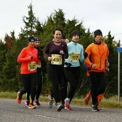 43. Saaremaa kolme päeva jooks - Annika Mets (117), Kai Saar (537)