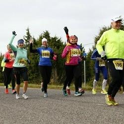 43. Saaremaa kolme päeva jooks - Margit Partei (129), Liili Vatsar (286), Raili Nõgu (502)