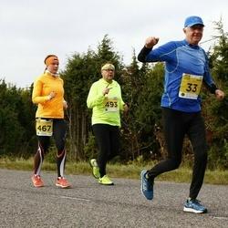 43. Saaremaa kolme päeva jooks - Hans Vallner (33), Marks Aizsils (493)