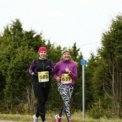 43. Saaremaa kolme päeva jooks - Tiina Muts (589), Tiina Kirs (639)