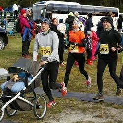 43. Saaremaa kolme päeva jooks - Annika Veimer (28), Lex Rennit (36), Raul Reiska (592), Leho Kesk (706)