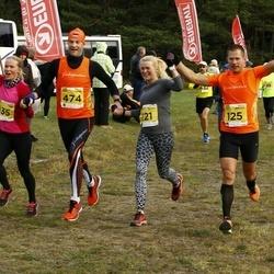 43. Saaremaa kolme päeva jooks - Kristel Vallaste (121), Margus Merivälja (125), Kristjan Värton (474)