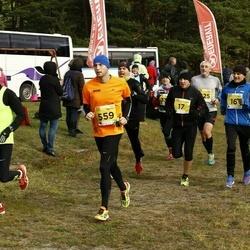 43. Saaremaa kolme päeva jooks - Raul Volke (16), Tambet Tamm (17), Sven Sarapuu (559), Andres Klettenberg (600)