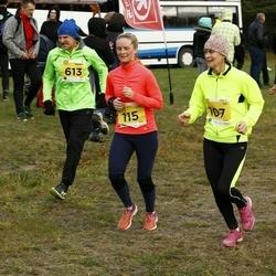 43. Saaremaa kolme päeva jooks - Anne-Li Tilk (107), Anu Tilk (115)