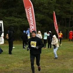43. Saaremaa kolme päeva jooks - Evert Varblas (80)