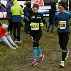 43. Saaremaa kolme päeva jooks - Annely Saar (225), Tarvo Jürimäe (226)