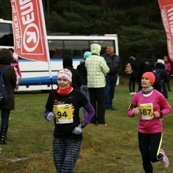 43. Saaremaa kolme päeva jooks - Anneli Albert (94), Kristin Arm (587)
