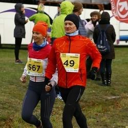 43. Saaremaa kolme päeva jooks - Veiko Valkiainen (49), Katrin Buchwald (567)