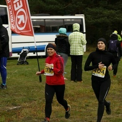 43. Saaremaa kolme päeva jooks - Pirje Külaots (173), Merle Palk (404)