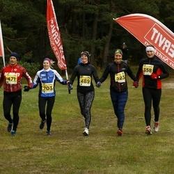 43. Saaremaa kolme päeva jooks - Vidrik Vaiksaar (358), Jaan Sibul (471), Sandra Raju (489), Kaisa Sööt (523), Berit Rohtjärv (703)