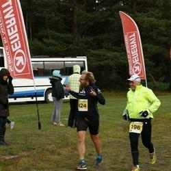43. Saaremaa kolme päeva jooks - Ain-Ivar Tupp (196), Margus Konnula (424)