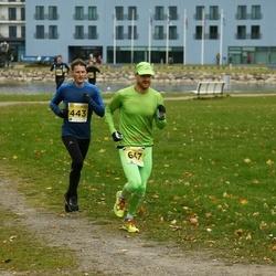43. Saaremaa kolme päeva jooks - Kunnar Kuuder (443), Tair Anton (647)