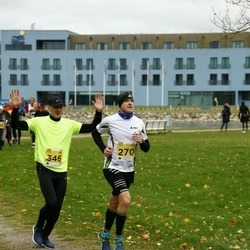 43. Saaremaa kolme päeva jooks - Anno Tarvis (270), Urmas Treiel (346)
