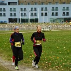 43. Saaremaa kolme päeva jooks - Liisi Viljalo (200), Kadri Limberg (393)