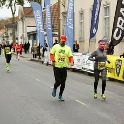 43. Saaremaa kolme päeva jooks - Krister Kallas (492), Kairit Valk (568)