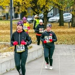 Pärnu Rannajooks - Margit Kaur (637), Rika Anso (672)
