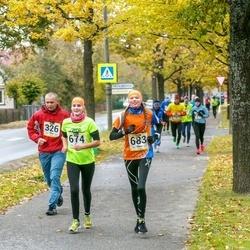 Pärnu Rannajooks - Raimo Tomson (326), Ethel Saarnak (674), Raileen Lelle (683)