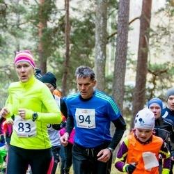 Elva Mäejooks - Triinu Palo (83), Erki Palm (94)