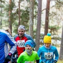Elva Mäejooks - Grete Jaeski (144), Jan Arnar Hiiemäe (147), Vello Vene (160)