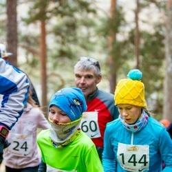 Elva Mäejooks - Grete Jaeski (144), Jan Arnar Hiiemäe (147)