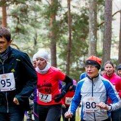 Elva Mäejooks - Rita Kivila (77), Ulvi Lond (80)
