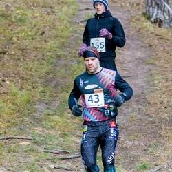 Elva Mäejooks - Ardo Virkebau (43), Kristjan Joosep (155)
