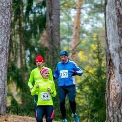 Elva Mäejooks - Triinu Palo (83), Toomas Ellervee (157)